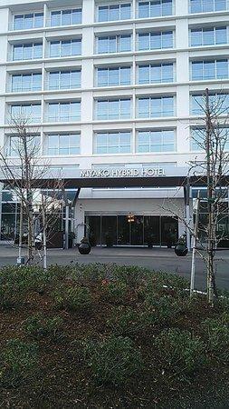Miyako Hybrid Hotel : ホテル外観