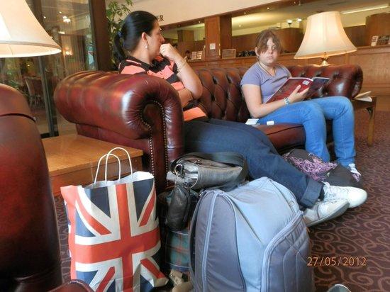 Imperial Hotel : Recepción