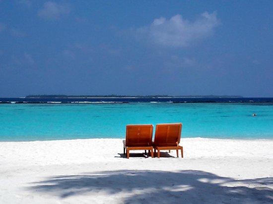 The Sun Siyam Iru Fushi Maldives: View from the pavilion