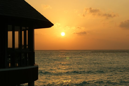 The Sun Siyam Iru Fushi Maldives : Sunset