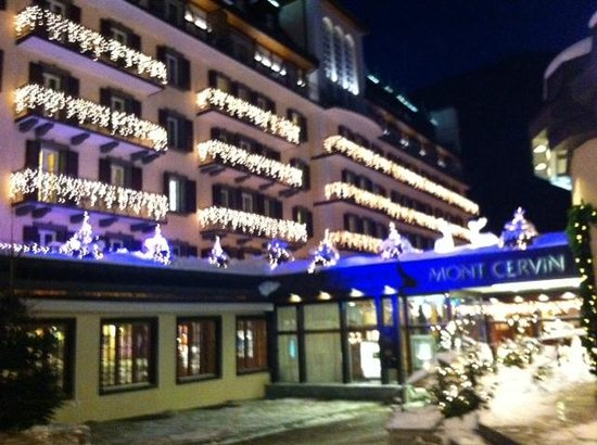 Hotel Mont Cervin Palace: Eingang