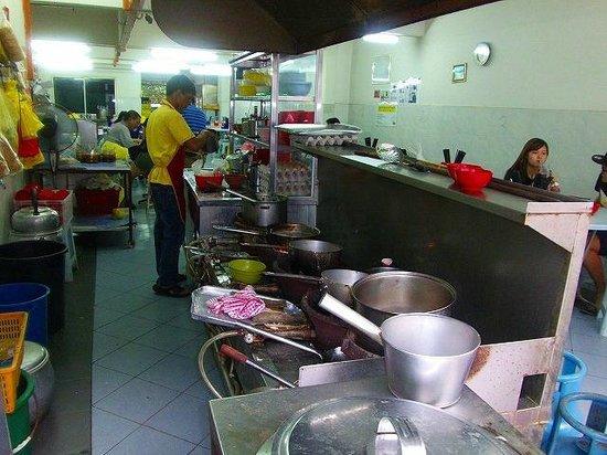 Kin Kin Restaurant, 厨房
