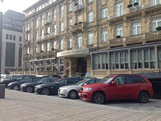 Steigenberger Parkhotel Duesseldorf : Сам отель