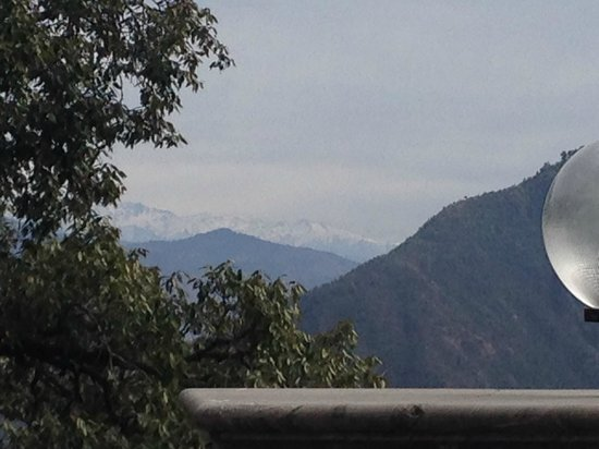 Hotel Madhuban Highlands: view from room balcony