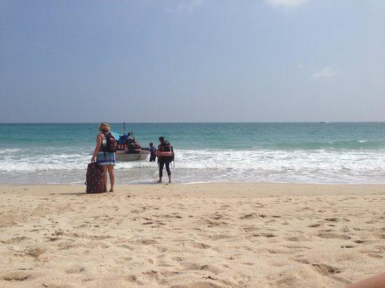 Haad Yuan Beach: Отбывающие