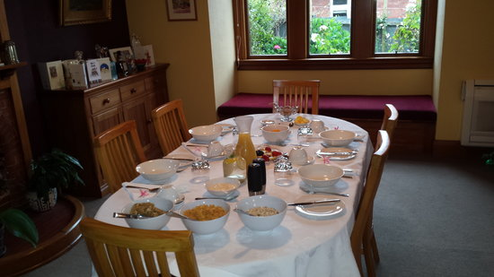 Sefton Homestay Bed and Breakfast: Breakfast