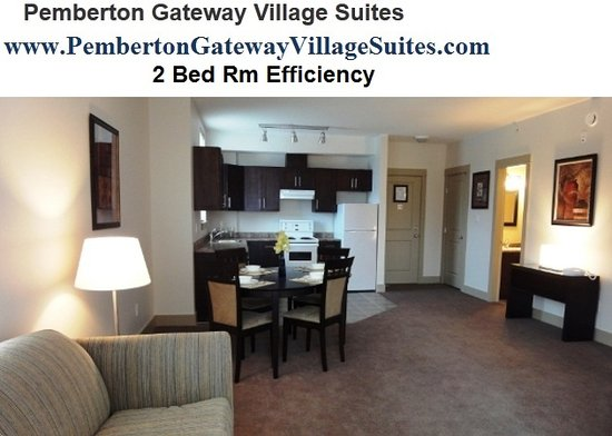 Pemberton Gateway Village Suites Hotel: 2 Bed Rm Efficiency