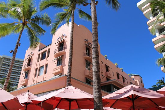 The Royal Hawaiian, a Luxury Collection Resort : Royal Hawaiian Original Building