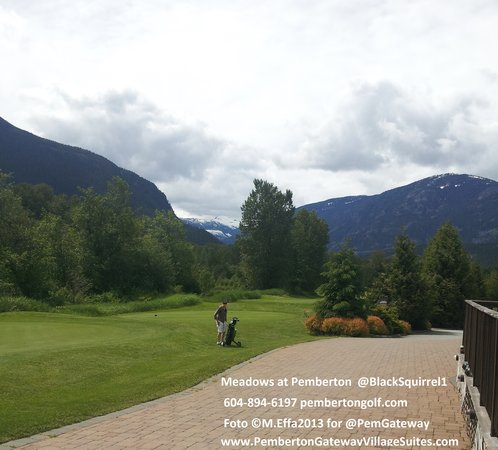 Pemberton Gateway Village Suites Hotel: Local Pemberton Meadows golf 2