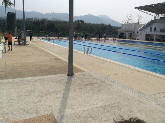 Thanyapura Health & Sports Resort: 50m training pool