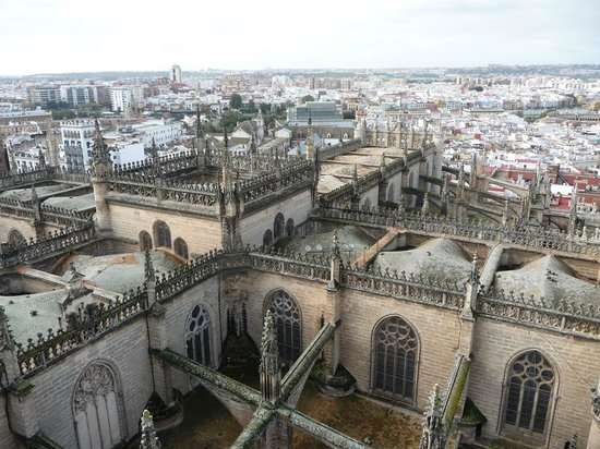 Catedral de Sevilla: Vue depuis la Giralda
