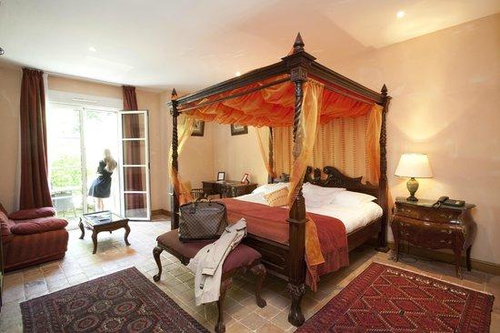 Les Hauts de Sainte Maure: chambre deluxe terrasse