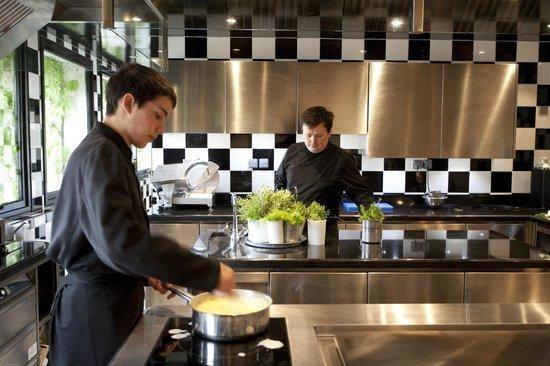les Hauts de Sainte Maure : cuisine