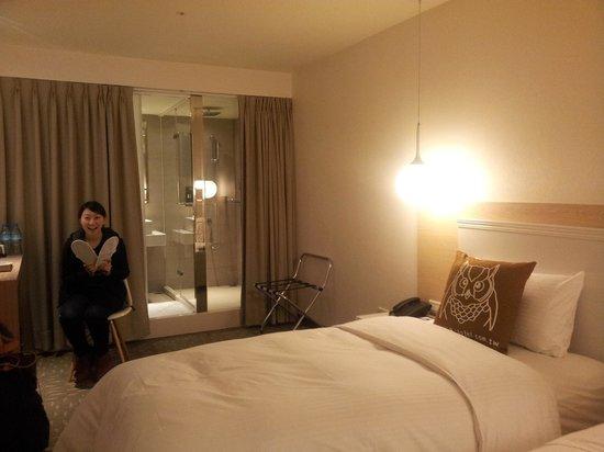 Via Hotel Loft: ツインの部屋