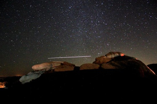 Jumbo Rocks Campground: Night Stars