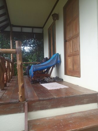 Oasis Koh Chang: Our porch, great to watch the sunset