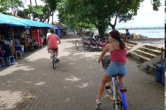 Segara Village Hotel: Hire a bike for $5 and ride along beach boardwalk or backstreets. loads of fun