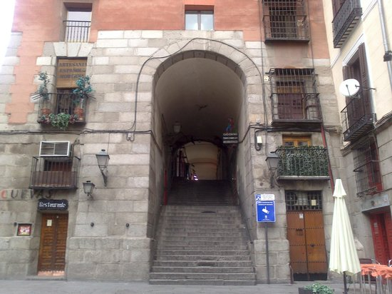 Tablao Flamenco Arco de Cuchilleros: Precioso!!