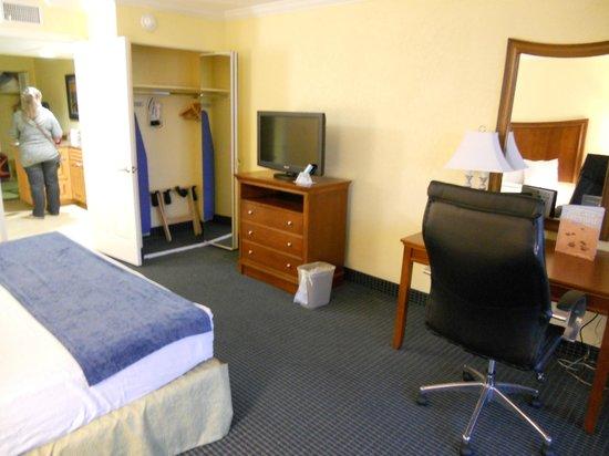 Best Western Cocoa Beach Hotel & Suites : la chambre