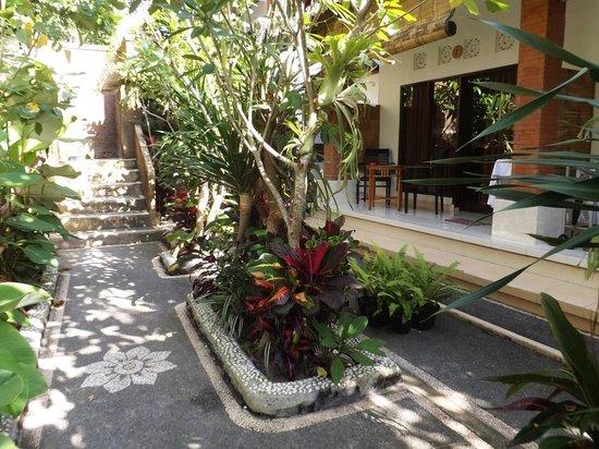 Omah D'Taman: Garden.