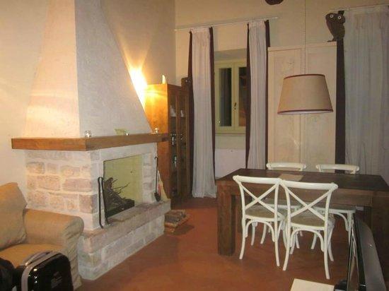 Country House il Vecchio Ippocastano: il salotto
