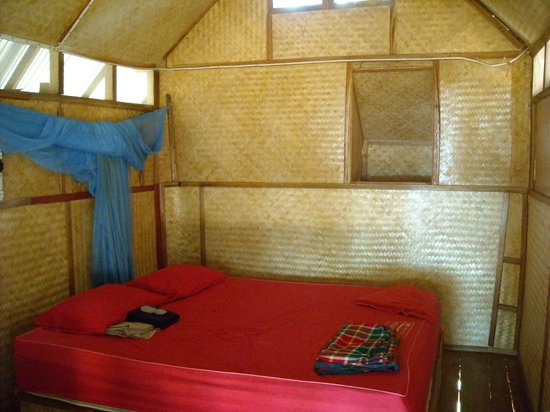 KP Huts: Interior of the hut