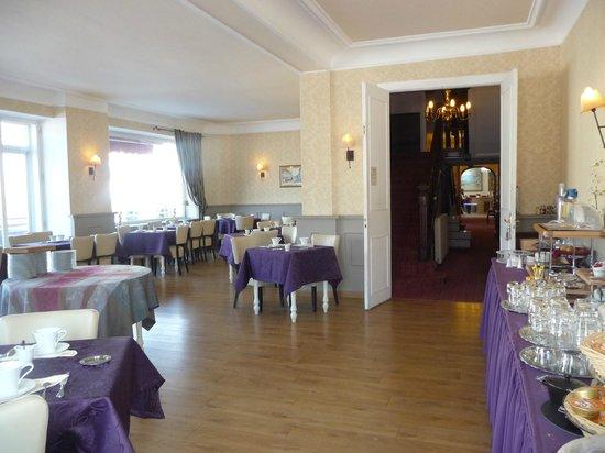 Hotel Des Bains : Salle petit déjeuner