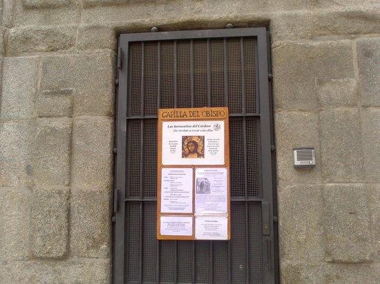 Capilla del Obispo : Detalle