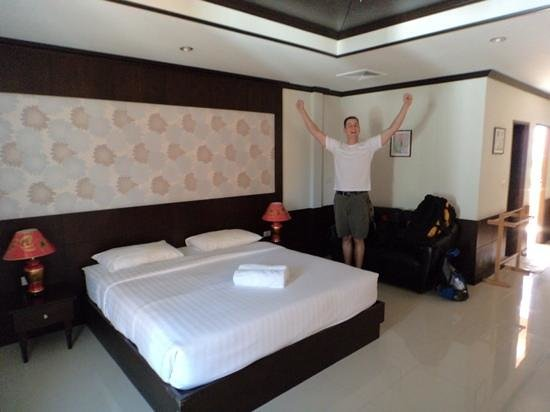 The Panwa Guesthouse: soft bed