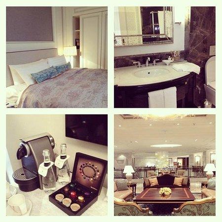 Shangri-La Bosphorus, Istanbul: the room and lobby