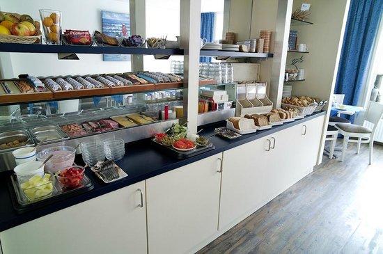 Hotel van Beelen: Een uitgebreid ontbijtbuffet