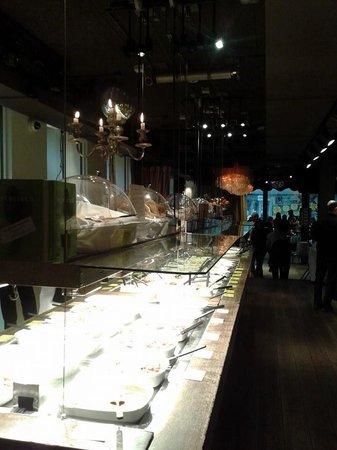 Haus Hiltl: buffet