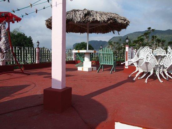 Casa Particular Ridel y Claribel: Rooftop terrace