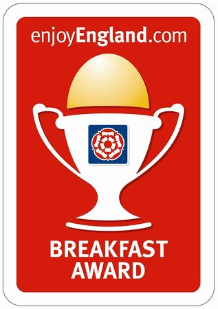 Bottreaux House Bed & Breakfast: Our Breakfast Award