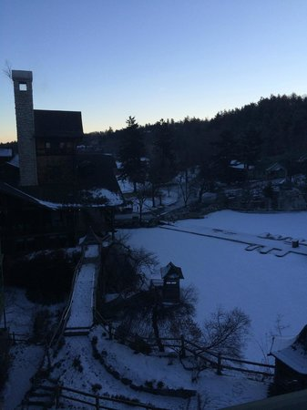 Mohonk Mountain House: Friday morning at the mountain