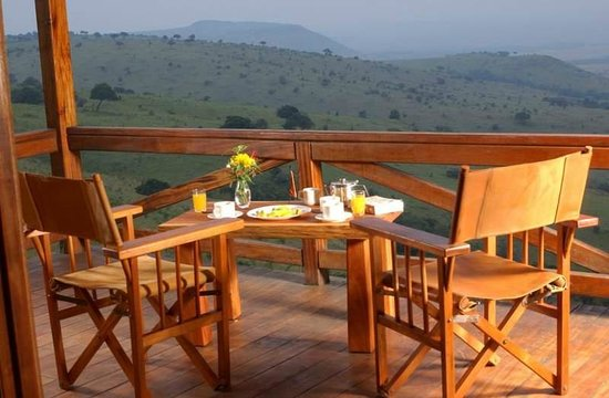 Mara West Camp: Dining from the Secluded Chalet Deck
