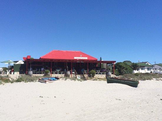 Voorstrandt : Näher am Strand geht ja nun nicht!