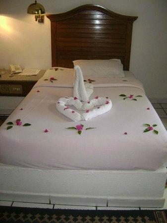 Dessole Aladdin Beach Resort: номер, вторая кровать не влезла в фото