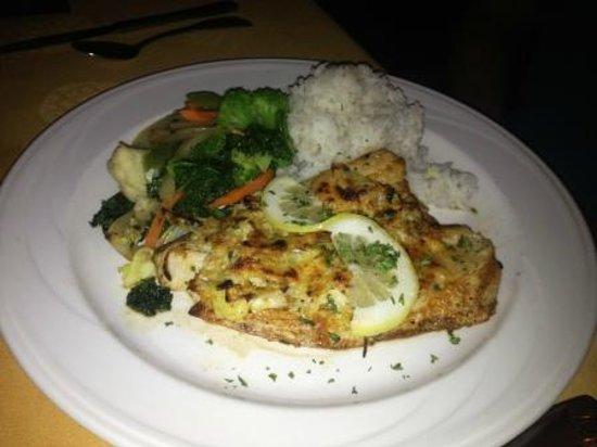 Tiki Terrace Restaurant: Secondo piatto