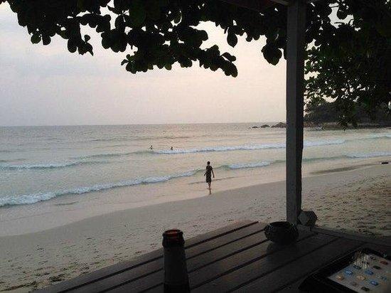 Sans Souci Samui: Пляж