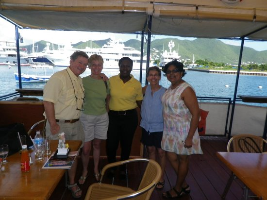 Carribean Grilled Flavors: Diners and Crew