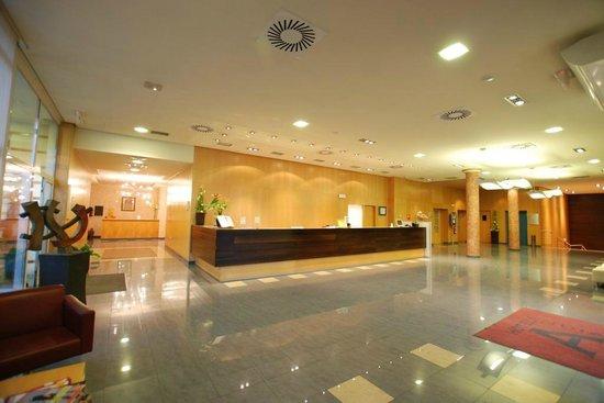 Andia Hotel Pamplona : Recepcion