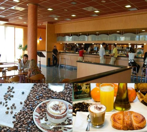Andia Hotel Pamplona: Cafeteria