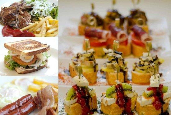 Andia Hotel Pamplona: Cafeterua
