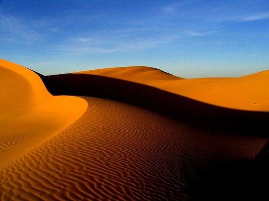 Auberge du Sud : as cores do deserto