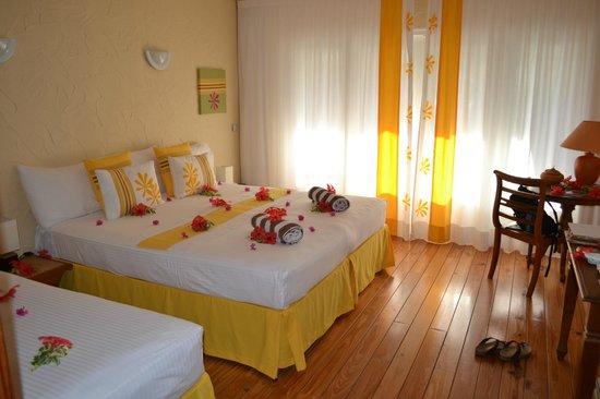 Raiatea Lodge Hotel : Chambre