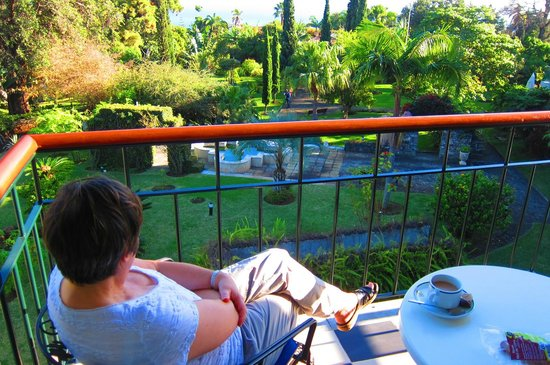 Quinta Jardins do Lago: Exquisite view from balcony