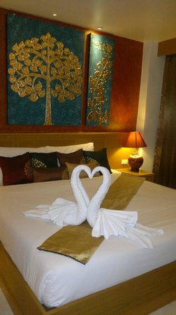 Tanawan Phuket Hotel : в день приезда