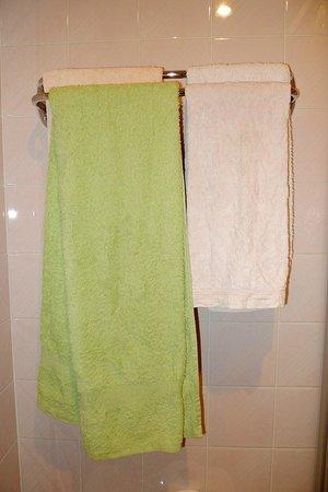 Logis Ardiden : Toallas viejas en el baño
