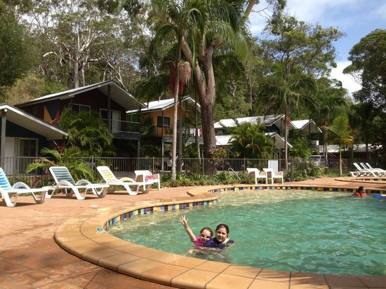 BIG4 Nambucca Beach Holiday Park: Great heated pool...kids swam for hours each day